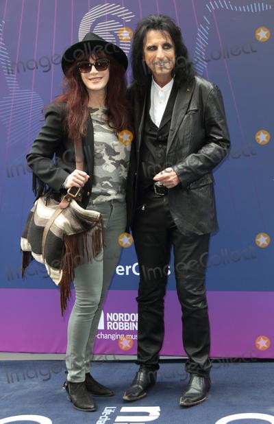 Alice Cooper Photo - London, UK. Alice Cooper  and guest  at the Nordoff Robbins O2 Silver Clef Awards at Grosvenor House, Park Lane, London on Friday 30 June 2017Ref: LMK73-S431-020717Keith Mayhew/Landmark Media. WWW.LMKMEDIA.COM