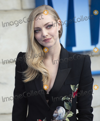 Amanda Seyfried, Gary Mitchell Photo - London, UK. Amanda Seyfried at the UK Premiere of 'Mamma Mia! Here We Go Again' at Eventim Apollo on July 16, 2018 in London, England16th July 2018