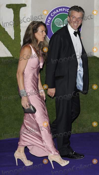Annabel Croft, Annabelle Croft Photo - London, UK. Annabel Croft and Husband at the Wimbledon Champions Dinner, held at the Inercontinental Hotel, Park Lane. 3rd July 2011.Can Nguyen/Landmark Media