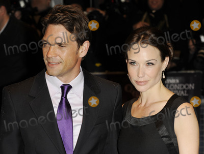 Claire Forlani, Dougray Scott, Leicester Square Photo - London. UK. Claire Forlani and Dougray Scott at The Times BFI London Film Festival screening 2008 of 'Leonera' ( aka Lion's Den ) at the Odeon West End, Leicester Square, London. UK.28th October 2008.Ali Kadinsky/Landmark Media