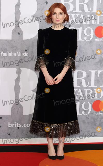 Alice Levine Photo - London.UK.  Alice Levine  at The BRIT Awards 2019 at The O2, Peninsula Square, London on 20th February  2019. Ref:LMK73-S2174-210219Keith Mayhew/Landmark MediaWWW.LMKMEDIA.COM