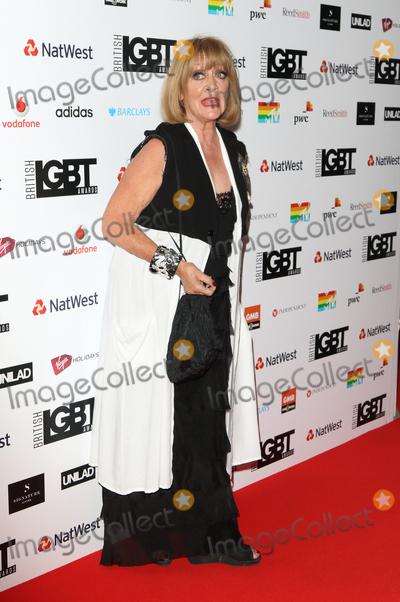 Amanda Barrie, Amanda Barry Photo - London.UK. Amanda Barrie at the The British LBGT Awards at the Grand Connaught Rooms, Covent Garden, London. 12th May 2017.Ref:LMK73-S235-130417Keith Mayhew/Landmark MediaWWW.LMKMEDIA.COM
