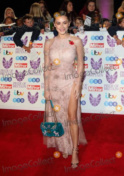 Amber Davies, Georgia Toffolo Photo - London, UK. Amber Davies at Pride of Britain Awards 2018 at the Grosvenor House, Park Lane, London on Monday 29 October 2018.Ref: LMK73-J2870-301018Keith Mayhew /Landmark Media. WWW.LMKMEDIA.COM.  Georgia Toffolo