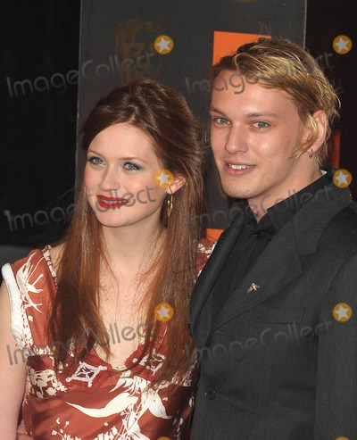 Bonnie Wright, Jamie Campbell, Jamie Campbell Bower, Jamie Campbell-Bower Photo - London, UK. Bonnie Wright and Jamie Campbell Bower at the Orange British Academy Film Awards held at the Royal Opera House in Covent Garden. 13 February 2011.