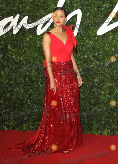 Nathalie Emmanuel, Albert Hall, Nathalie ., Nathalie Emmanuelle Photo - London, UK. Nathalie Emmanuel at the Fashion Awards 2019, at Royal Albert Hall, London, December 2nd 2019 