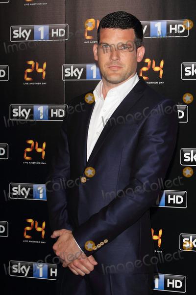 Adam Sinclair, Sinclair Photo - London, UK. Adam Sinclair at UK premiere of '24: Live Another Day' at Old Billingsgate, London on May 6th 2014. Ref: LMK73-48388-070514Keith Mayhew/Landmark Media. WWW.LMKMEDIA.COM