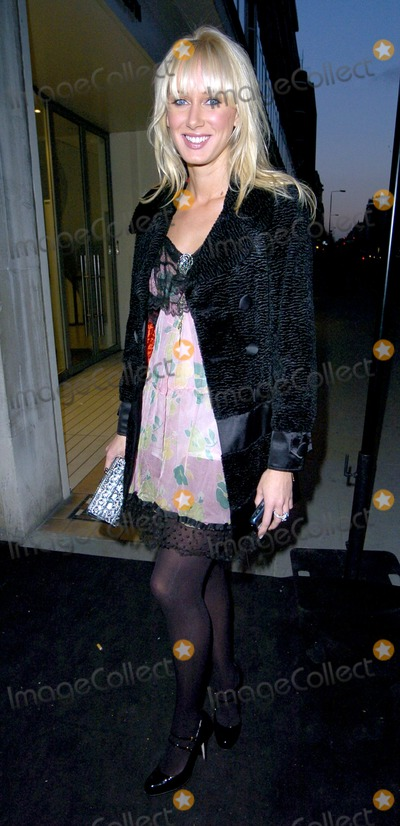 Photo - London. UK. Kimberley Stewart at the Sergio Rossi store launch on Sloane Street in London. 4th April 2007.Can Nguyen/Landmark Media