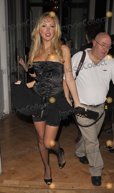 Aisleyne Horgan Wallace, Aisleyne Horgan-Wallace Photo - Los Angeles.CA.USA. Aisleyne Horgan Wallace and guest   at the  Bloodlust Ball . Trinity Church. 25th October 2008. 