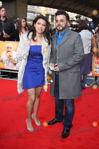 Ameet Chana Photo - London.UK. Ameet Chana  and guest  at the World Premiere of the film comedy The Infidel. Hammersmith Apollo, London. 8th April 2010. Keith Mayhew/Landmark Media.