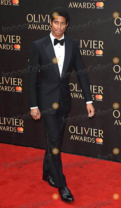 Alfred Enoch, Albert Hall Photo - London, UK. Alfred Enoch at The Olivier Awards 2018 held at The Royal Albert Hall, Kensington Gore, South Kensington, London on Sunday 8 April 2018