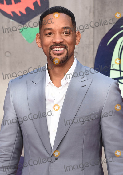 Will Smith Photo - London, UK. Will Smith at the European Premiere of 'Suicide Squad' at the Odeon Leicester Square, London on August 3rd 2016