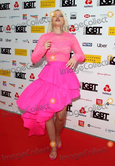 Alice Chater Photo - London, UK.  Alice Chater  at the British LGBT Awards at the London Marriott Hotel Grosvenor Square, London. 17th May 2019.Ref:LMK73-S2445-180519Keith Mayhew/Landmark Media WWW.LMKMEDIA.COM.
