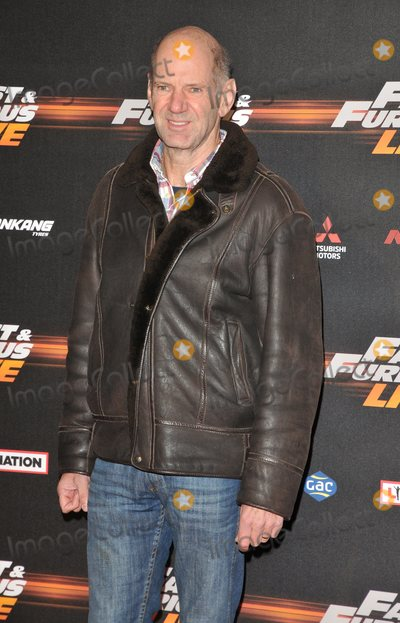 Adrian Newey Photo - London.UK.  Adrian Newey     at the Fast and Furious Live Global Premiere at the 02 Arena, Peninsula Square. 19th January 2018.  Ref:LMK315-S1077-200118