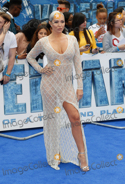 Aisleyne Horgan-Wallis Photo - London, UK. Aisleyne Horgan-Wallis at Valerian And The City Of A Thousand Planets - European film premiere - at the Cineworld Empire, Leicester Square, London on July 24th 2017