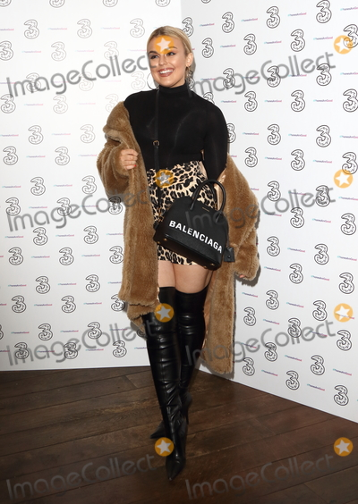 Tallia Storm Photo - London, UK. Tallia Storm at Portr8s Three Mobiles VIP Gallery Launch at Three Mobile Pop-Up Gallery, 13 Soho Square, London on Thursday 25 October 2018