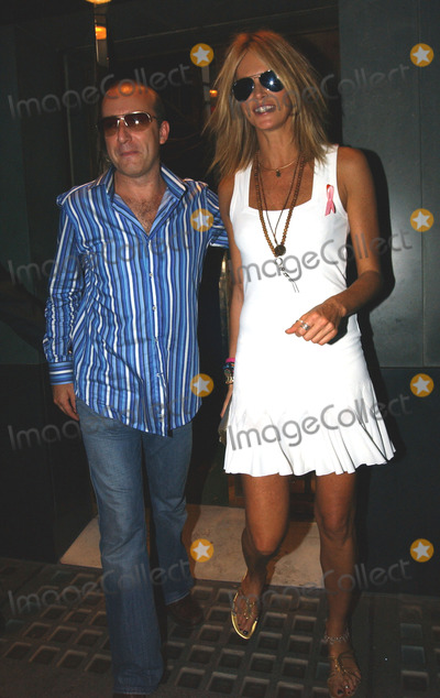 Photos And Pictures London Uk Australian Born Model And Actress Elle Macpherson And Escort At The Ivy Restaurant London Macpherson Split With Husband