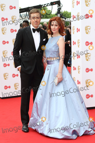 Amy Nuttall, andrew buchan Photo - London, UK. Andrew Buchan and Amy Nuttall at Virgin TV British Academy Television Awards 2017 at the Royal Festival Hall, South Bank, London on May 14th 2017.