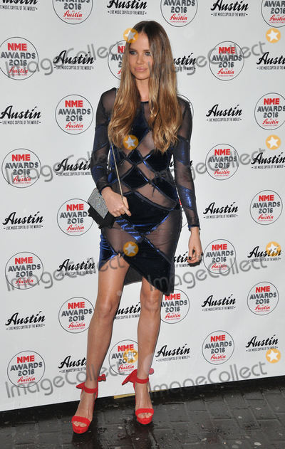 Alicia Rountree Photo - London, UK. Alicia Rountree at the NME Awards 2016 with Austin, Texas, O2 Academy Brixton, Stockwell Road, London, UK, on Wednesday 17 February 2016.