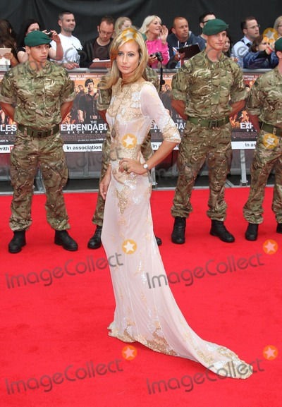 Lady Victoria Hervey, Victoria Hervey, Leicester Square Photo - London, UK. Lady Victoria Hervey at the UK Premiere of The Expendables 2 at the Empire, Leicester Square. 13th August 2012.Keith Mayhew/Landmark Media