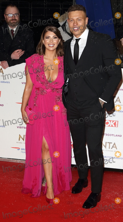 Olivia Buckland, Alex Bowen Photo - London, UK. Olivia Buckland and Alex Bowen at National Television Awards at The O2, Peninsula Square, London on Tuesday January 22nd 2019
