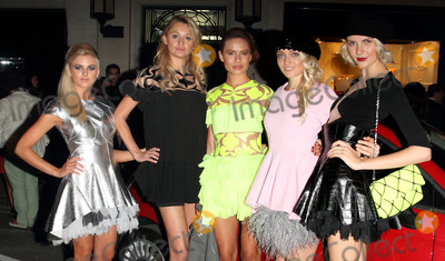 Photo - London UK. Models at Fashions Night Out - Tod's Party at Tod's Boutique, Old Bond Street, London. 6th September  2012.Keith Mayhew/Landmark Media