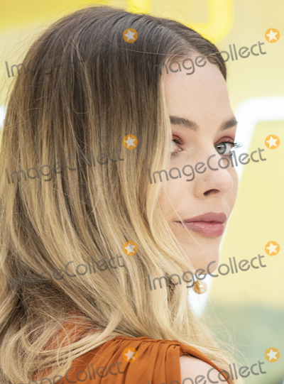 Margot Robbie, Gary Mitchell, Leicester Square Photo - London, England. Margot Robbie at  the UK Premiere of Once Upon a Time in Hollywood, Odeon Luxe Leicester Square, London, England. 30th July 2019.Ref: LMK386-J5279-310719Gary Mitchell/Landmark MediaWWW.LMKMEDIA.COM