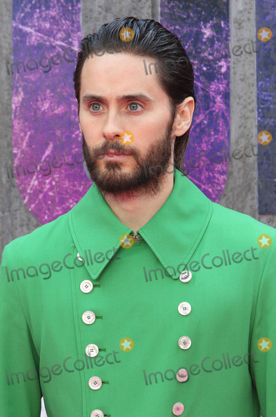 Jared Leto Photo - London, UK. Jared Leto at the European Premiere of 'Suicide Squad' at the Odeon Leicester Square, London on August 3rd 2016