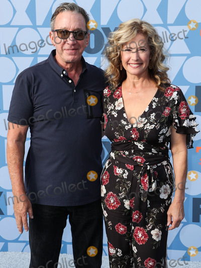 Nancy Travis, Tim Allen Photo - LOS ANGELES, CALIFORNIA, USA - AUGUST 07: Actor Tim Allen and actress Nancy Travis arrive at the FOX Summer TCA 2019 All-Star Party held at Fox Studios on August 7, 2019 in Los Angeles, California, United States. (Photo by Xavier Collin/Image Press Agency)