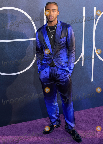Algee Smith Photo - HOLLYWOOD, LOS ANGELES, CALIFORNIA, USA - JUNE 04: Actor Algee Smith arrives at the Los Angeles Premiere Of HBO's 'Euphoria' held at the ArcLight Cinerama Dome on June 4, 2019 in Hollywood, Los Angeles, California, United States. (Photo by Image Press Agency)