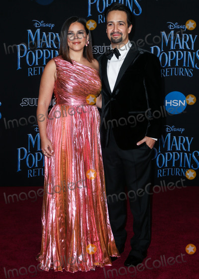 Lin Manuel Miranda, Lin-Manuel Miranda, Lin Manuel, Manuel Tallafè, Vanessa Larré Photo - HOLLYWOOD, LOS ANGELES, CA, USA - NOVEMBER 29: Vanessa Nadal, Lin-Manuel Miranda at the Los Angeles Premiere Of Disney's 'Mary Poppins Returns' held at the El Capitan Theatre on November 29, 2018 in Hollywood, Los Angeles, California, United States. (Photo by Image Press Agency)