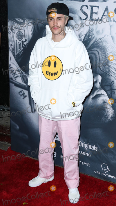 Justin Bieber Photo - WESTWOOD, LOS ANGELES, CALIFORNIA, USA - JANUARY 27: Singer Justin Bieber arrives at the Los Angeles Premiere Of YouTube Originals' 'Justin Bieber: Seasons' held at the Regency Bruin Theatre on January 27, 2020 in Westwood, Los Angeles, California, United States. (Photo by Xavier Collin/Image Press Agency)