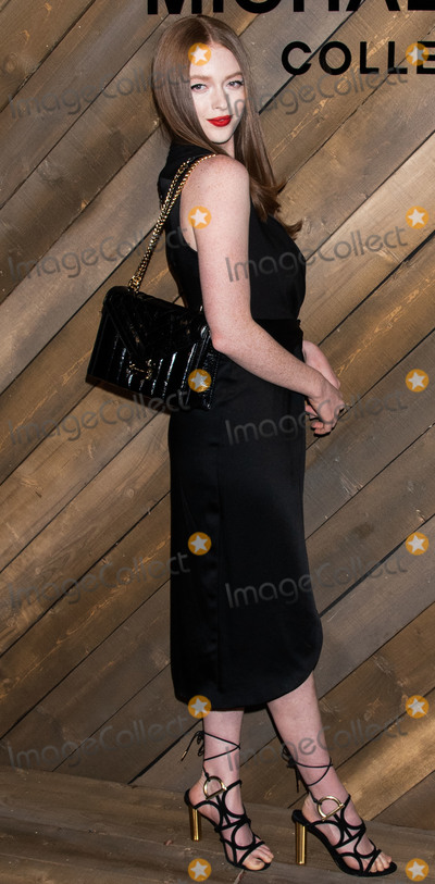 Michael Kors, Larsen Thompson Photo - MANHATTAN, NEW YORK CITY, NEW YORK, USA - FEBRUARY 12: Larsen Thompson arrives at the Michael Kors Collection Fall/Winter 2020 Runway Show - February 2020 during New York Fashion Week held at the American Stock Exchange on February 12, 2020 in Manhattan, New York City, New York, United States. (Photo by Image Press Agency)