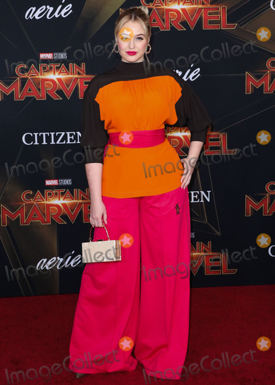 Iskra Lawrence Photo - HOLLYWOOD, LOS ANGELES, CA, USA - MARCH 04: Iskra Lawrence arrives at the Los Angeles Premiere Of Marvel Studios 'Captain Marvel' held at the El Capitan Theatre on March 4, 2019 in Hollywood, Los Angeles, California, United States. (Photo by David Acosta/Image Press Agency)