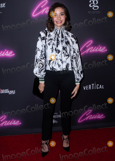 Photo - HOLLYWOOD, LOS ANGELES, CA, USA - SEPTEMBER 26: Federica Garcia at the Los Angeles Premiere Of 'Cruise' held at ArcLight Hollywood on September 26, 2018 in Hollywood, Los Angeles, California, United States. (Photo by Rudy Torres/Image Press Agency)