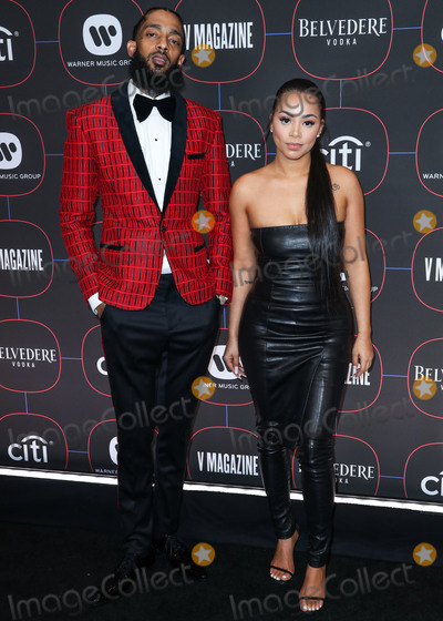 Lauren London, Madness, Nipsey Hussle Photo - LOS ANGELES, CA, USA - FEBRUARY 07: Nipsey Hussle and Lauren London arrive at the Warner Music Pre-Grammy Party 2019 held at The NoMad Hotel Los Angeles on February 7, 2019 in Los Angeles, California, United States. (Photo by Xavier Collin/Image Press Agency)