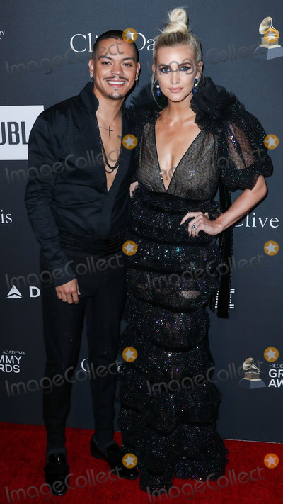 Ashlee Simpson, Clive Davis, Evan Ross Photo - BEVERLY HILLS, LOS ANGELES, CA, USA - FEBRUARY 09: Actor Evan Ross and wife/singer Ashlee Simpson arrive at The Recording Academy And Clive Davis' 2019 Pre-GRAMMY Gala held at The Beverly Hilton Hotel on February 9, 2019 in Beverly Hills, Los Angeles, California, United States. (Photo by Xavier Collin/Image Press Agency)