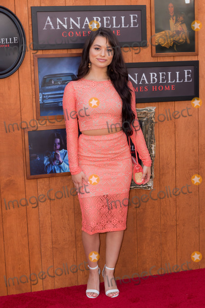 Ariel Yasmine Photo - WESTWOOD, LOS ANGELES, CALIFORNIA, USA - JUNE 20: Ariel Yasmine arrives at the Los Angeles Premiere Of Warner Bros' 'Annabelle Comes Home' held at Regency Village Theatre on June 20, 2019 in Westwood, Los Angeles, California, United States. (Photo by Rudy Torres/Image Press Agency)