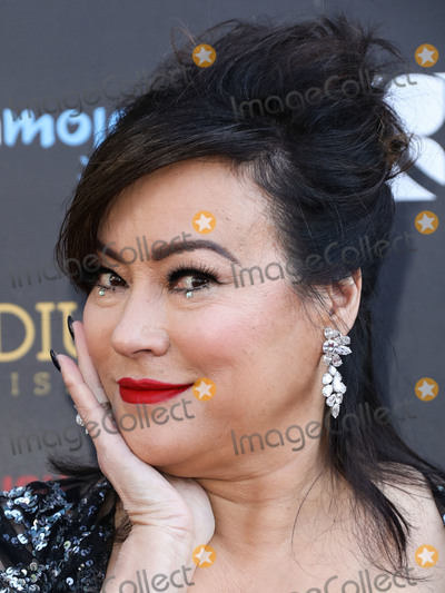 Jennifer Tilly, Saturn Awards Photo - HOLLYWOOD, LOS ANGELES, CALIFORNIA, USA - SEPTEMBER 13: Actress Jennifer Tilly arrives at the 45th Annual Saturn Awards held at Avalon Hollywood on September 13, 2019 in Hollywood, Los Angeles, California, United States. (Photo by David Acosta/Image Press Agency)