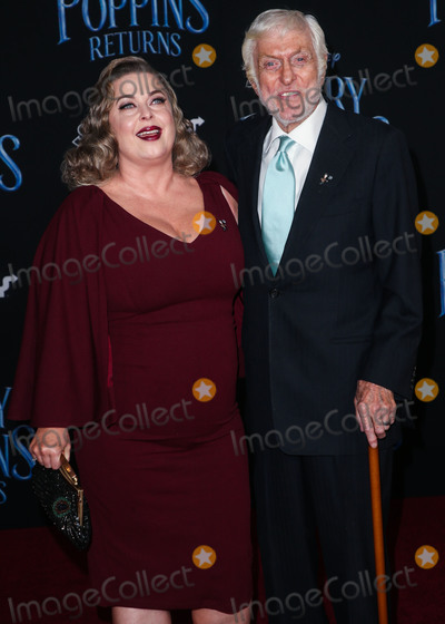 Dick Van Dyke, Arlene Silver Photo - HOLLYWOOD, LOS ANGELES, CA, USA - NOVEMBER 29: Arlene Silver, Dick Van Dyke at the Los Angeles Premiere Of Disney's 'Mary Poppins Returns' held at the El Capitan Theatre on November 29, 2018 in Hollywood, Los Angeles, California, United States. (Photo by Image Press Agency)