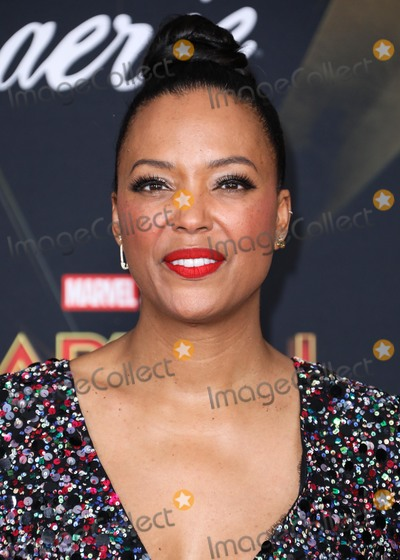 Aisha Tyler Photo - HOLLYWOOD, LOS ANGELES, CA, USA - MARCH 04: Actress Aisha Tyler arrives at the Los Angeles Premiere Of Marvel Studios 'Captain Marvel' held at the El Capitan Theatre on March 4, 2019 in Hollywood, Los Angeles, California, United States. (Photo by David Acosta/Image Press Agency)