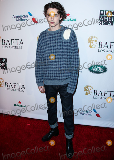 Four Seasons, The Four Seasons, Timothee Chalamet Photo - BEVERLY HILLS, LOS ANGELES, CA, USA - JANUARY 05: Actor Timothee Chalamet arrives at the BAFTA (British Academy of Film and Television Arts) Los Angeles Tea Party 2019 held at the Four Seasons Hotel Los Angeles at Beverly Hills on January 5, 2019 in Beverly Hills, Los Angeles, California, United States. (Photo by Xavier Collin/Image Press Agency)