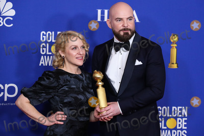 Chris Butler, Arianne Sutner Photo - BEVERLY HILLS, LOS ANGELES, CALIFORNIA, USA - JANUARY 05: Arianne Sutner and Chris Butler pose in the press room at the 77th Annual Golden Globe Awards held at The Beverly Hilton Hotel on January 5, 2020 in Beverly Hills, Los Angeles, California, United States. (Photo by Xavier Collin/Image Press Agency)