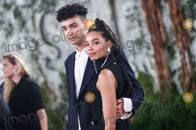 Nesta Cooper, Archie Madekwe Photo - WESTWOOD, LOS ANGELES, CALIFORNIA, USA - OCTOBER 21: Actor Archie Madekwe and actress Nesta Cooper arrive at the World Premiere Of Apple TV+'s 'See' held at the Fox Village Theater on October 21, 2019 in Westwood, Los Angeles, California, United States. (Photo by Xavier Collin/Image Press Agency)