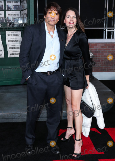Tiffany, Vincent Spano, TCL Chinese Theatre Photo - HOLLYWOOD, LOS ANGELES, CALIFORNIA, USA - OCTOBER 24: Vincent Spano and Tiffany Downey arrive at the Los Angeles Premiere Of Netflix's 'The Irishman' held at TCL Chinese Theatre IMAX on October 24, 2019 in Hollywood, Los Angeles, California, United States. (Photo by Xavier Collin/Image Press Agency)