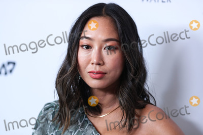 Front Row, Aimee Song, Anouk Aimé Photo - MANHATTAN, NEW YORK CITY, NEW YORK, USA - SEPTEMBER 05: Model Aimee Song wearing own collection, Song Of Style arrives at Daily Front Row's 2019 Fashion Media Awards held at The Rainbow Room at the Rockefeller Center on September 5, 2019 in Manhattan, New York City, New York, United States. (Photo by Xavier Collin/Image Press Agency)