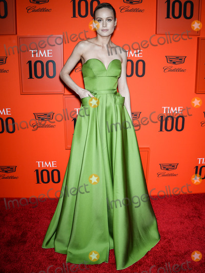 Brie Larson Photo - MANHATTAN, NEW YORK CITY, NEW YORK, USA - APRIL 23: Actress Brie Larson wearing Prada arrives at the 2019 Time 100 Gala held at the Frederick P. Rose Hall at Jazz At Lincoln Center on April 23, 2019 in Manhattan, New York City, New York, United States. (Photo by Image Press Agency)