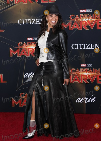 """Downtown Julie Brown, Julie Brown, """"Downtown"""" Julie Brown, 'Downtown' Julie Brown Photo - HOLLYWOOD, LOS ANGELES, CA, USA - MARCH 04: Actress Downtown Julie Brown arrives at the Los Angeles Premiere Of Marvel Studios 'Captain Marvel' held at the El Capitan Theatre on March 4, 2019 in Hollywood, Los Angeles, California, United States. (Photo by David Acosta/Image Press Agency)"""