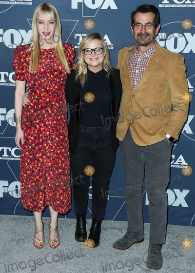 Amy Poehler, Ty Burrell, Riki Lindhome, Riki Lindhom Photo - PASADENA, LOS ANGELES, CALIFORNIA, USA - JANUARY 07: Amy Poehler, Ty Burrell and Riki Lindhome arrive at the FOX Winter TCA 2020 All-Star Party held at The Langham Huntington Hotel on January 7, 2020 in Pasadena, Los Angeles, California, United States. (Photo by Xavier Collin/Image Press Agency)