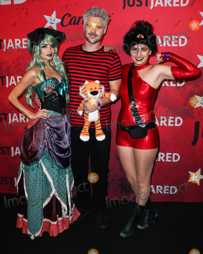 Alice Greczyn, Grey Damon, Just Jared Photo - HOLLYWOOD, LOS ANGELES, CA, USA - OCTOBER 27: Alice Greczyn, Grey Damon, Kate Greczyn at Just Jareds 7th Annual Halloween Party held at Goya Studios on October 27, 2018 in Hollywood, Los Angeles, California, United States. (Photo by Xavier Collin/Image Press Agency)