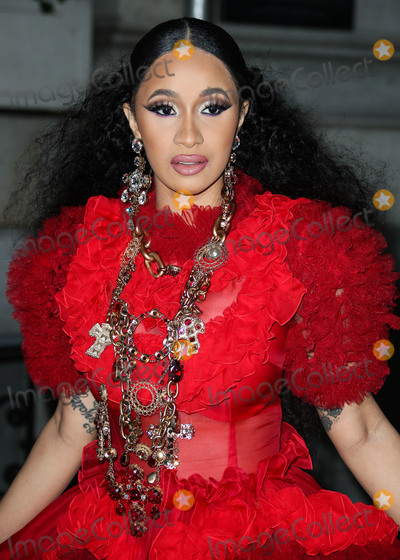 Carine Roitfeld, Dolce and Gabbana, Cardi B., Cardi B, Coronavirus Pandemic Photo - (FILE) Cardi B And Fashion Nova Are Giving Away $1,000 Per Hour Amid Coronavirus COVID-19 Pandemic. Fashion Nova and Cardi B are donating $1,000 every hour for the next 42 days until they've given away $1 million to those affected by the coronavirus pandemic. MANHATTAN, NEW YORK CITY, NY, USA - SEPTEMBER 07: Rapper Cardi B (Belcalis Marlenis Almanzar) wearing a Dolce and Gabbana dress arrives at the Harper's BAZAAR Celebration of 'ICONS By Carine Roitfeld' held at The Plaza Hotel on September 7, 2018 in Manhattan, New York City, New York, United States. (Photo by Xavier Collin/Image Press Agency)
